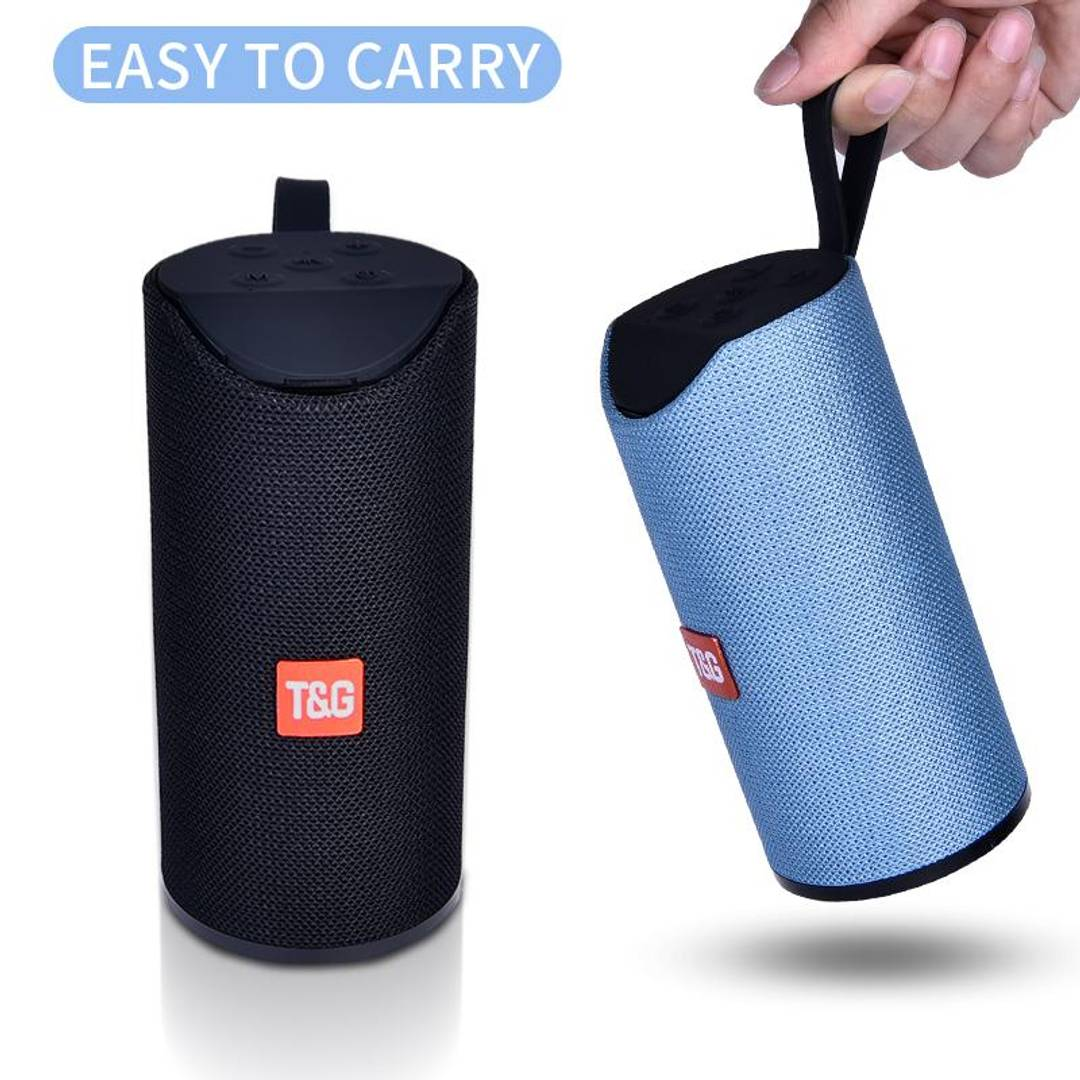Wireless & Splash Proof Bluetooth Speaker Mobile With Earphone Pouch