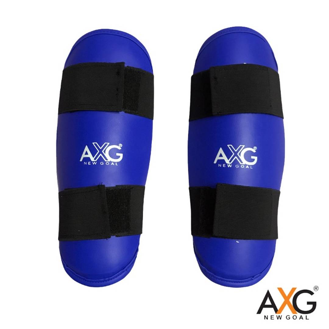 AXG New Goal Facilitate PU Taekwondo & MMA Arm Guard (1 Pair) Suitable Age 9 to 15 Years