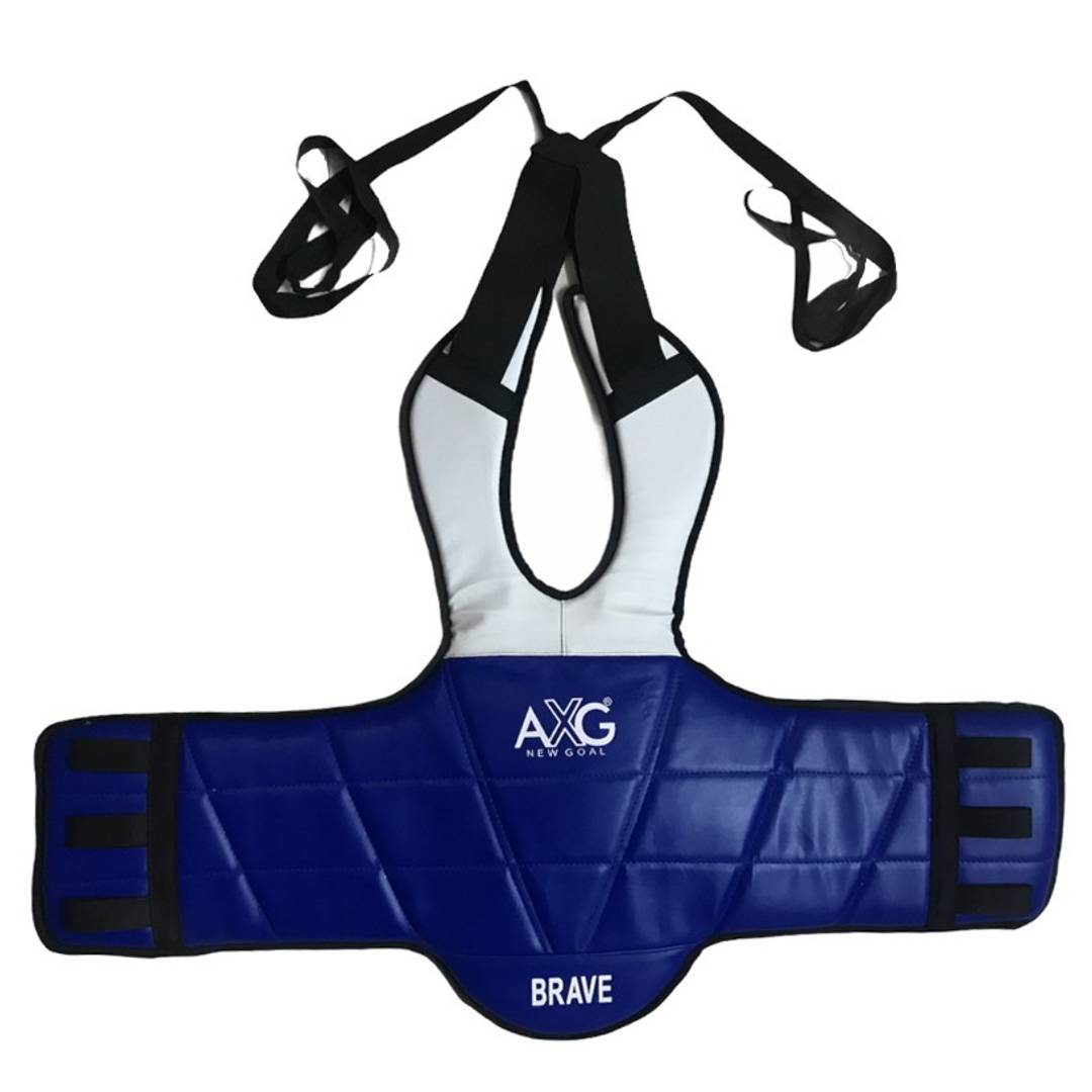 AXG New Goal Strengthen 2 Sided Colored Chest Guard