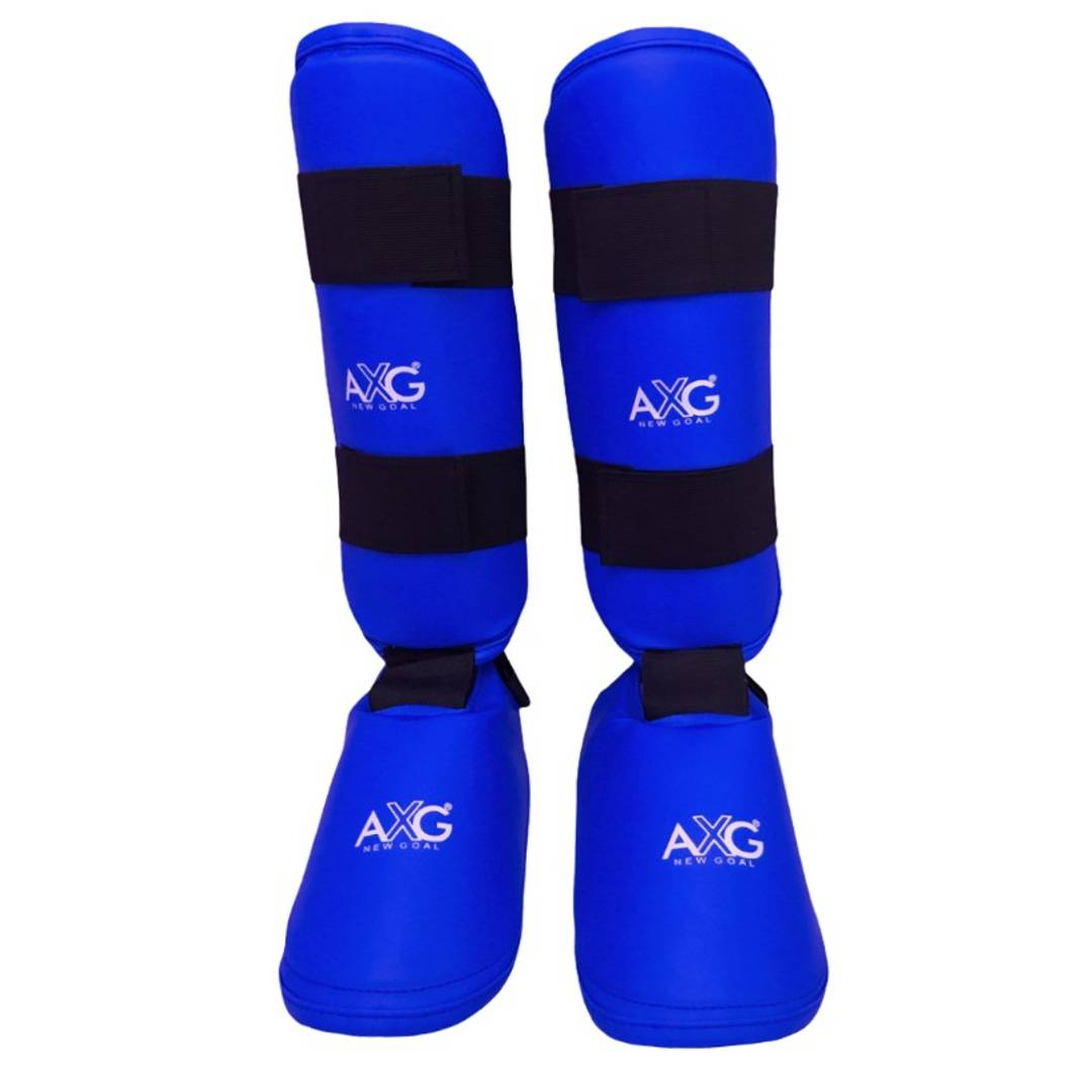 New Goal Head Way Karate Taekwondo Shin Pad Thai Kick Kickboxing MMA Shin Guard