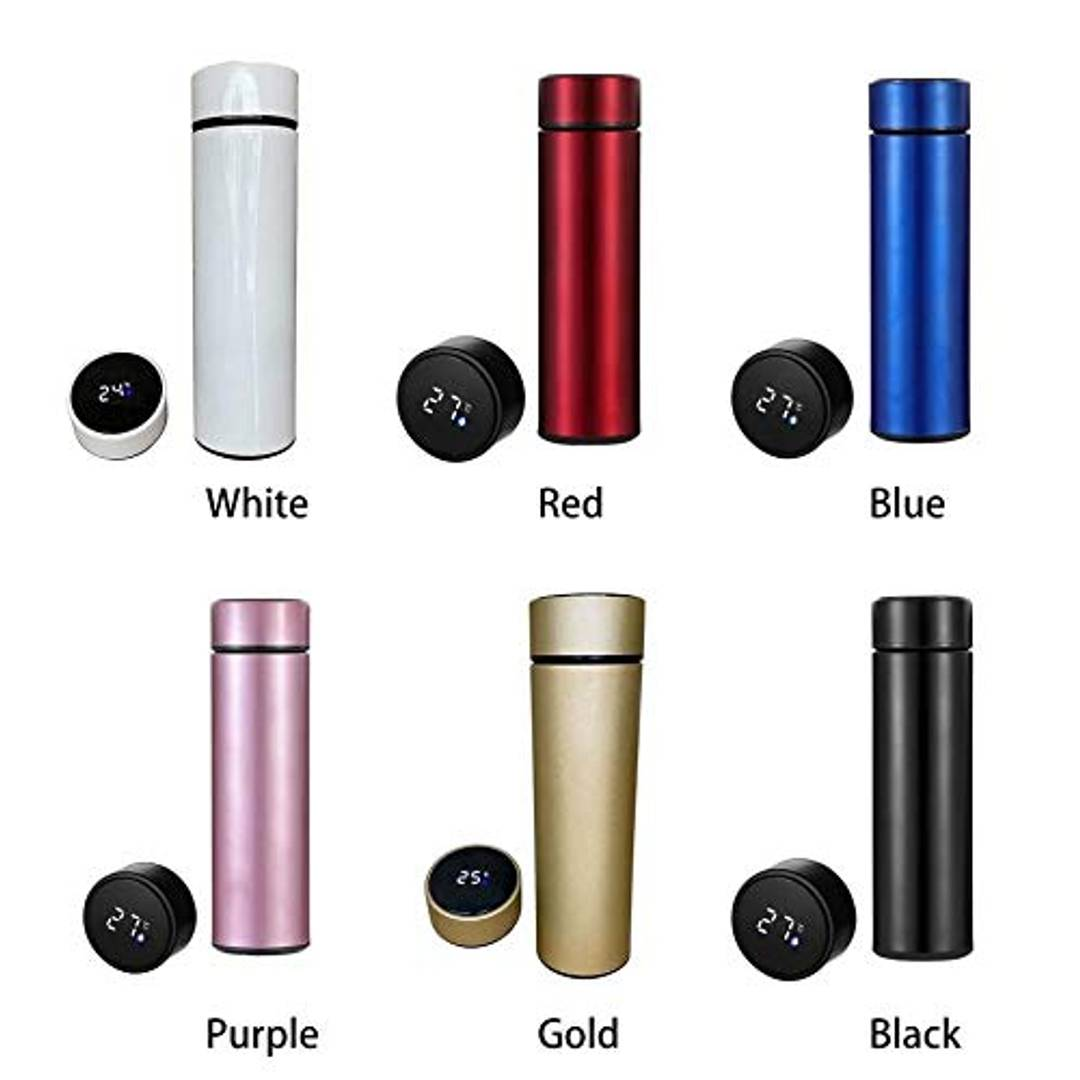 Smart LED Active Temperature Display Indicator Insulated with Stainless Steel Hot And Cold Flask Bottle
