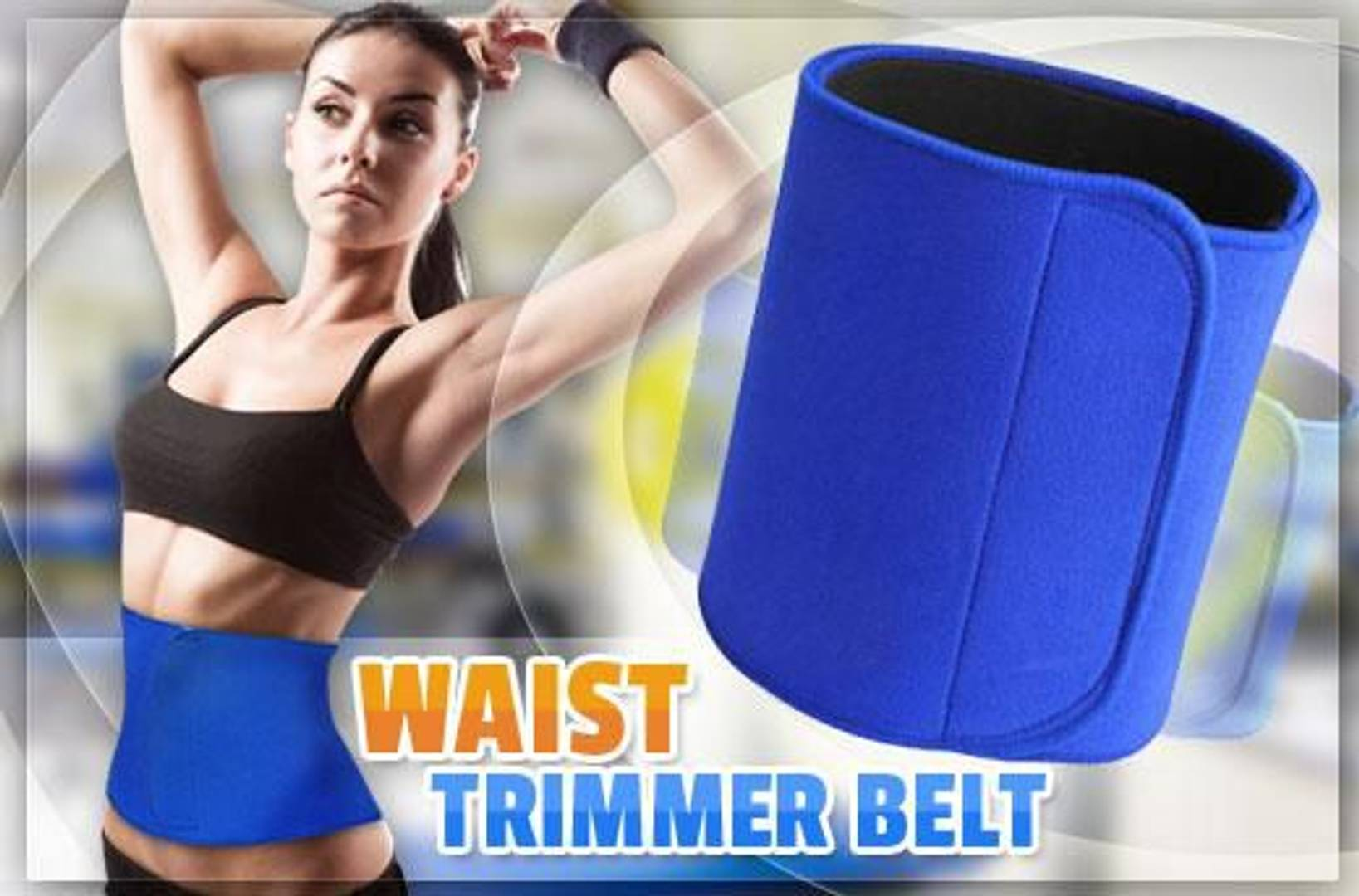 Unisex Body shaping & Slimming Blue Belt
