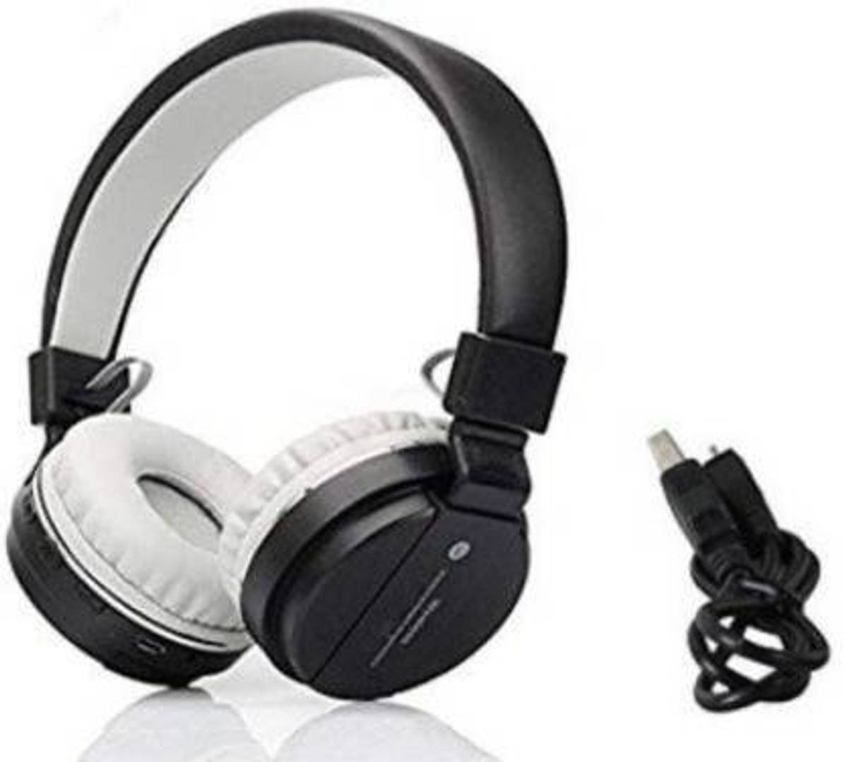 Vinimox SH12 wireless Bluetooth Headphone With FM and SD Card Slot with music and calling controls
