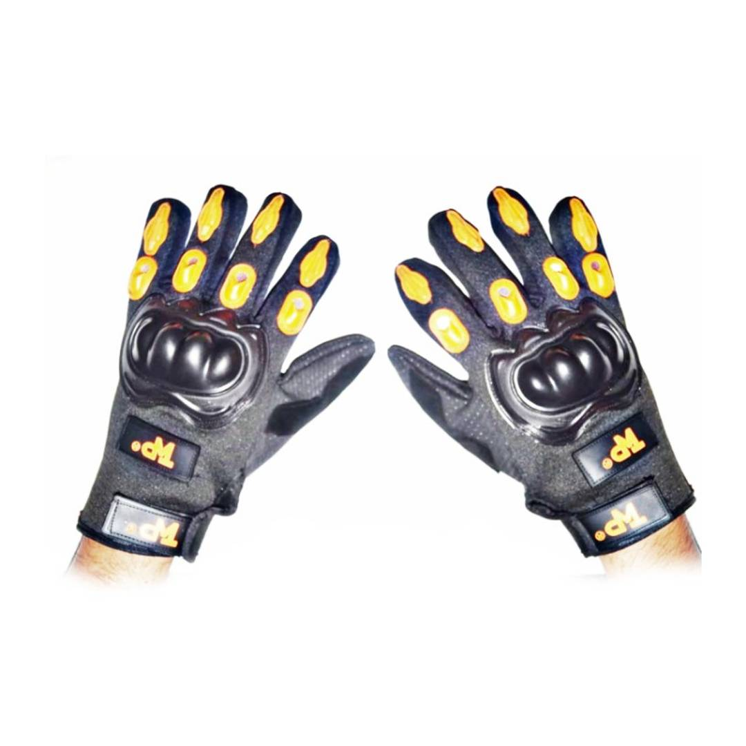 GREYGATOR BIKE RACING HAND GLOVES FULL FINGER GPG0003  YELLOW
