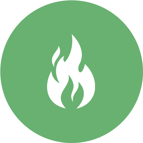 Fire for reheating vegetarian meals in Des Moines, Iowa