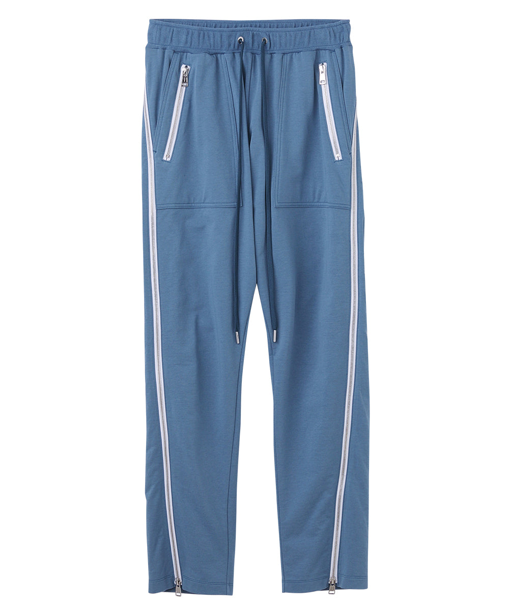 Side zipped jogger