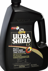 Absorbine Ultrashield EX Insecticide & Repellent Horse Spray Refill, 1-gal bottle