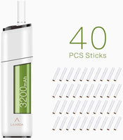 LAMBDA CC Heat Not Burn Device Starter Kits for Tobacco Sticks (white)