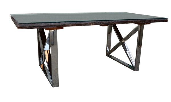 Reclaimed Sleeper Dining Table