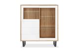 Manhattan 2 Door 3 Drawer Display Cabinet