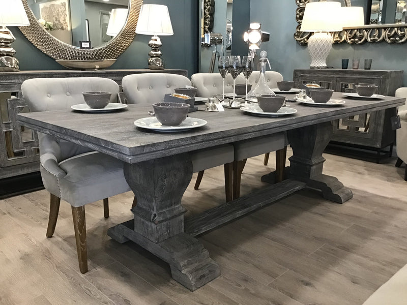Greywell Pedestal Dining Table