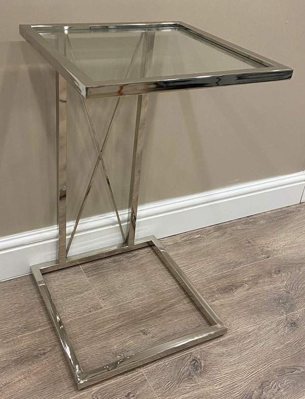 Argento Cross C Side Table
