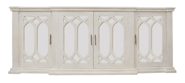 Greywell Breakfront Sideboard in White