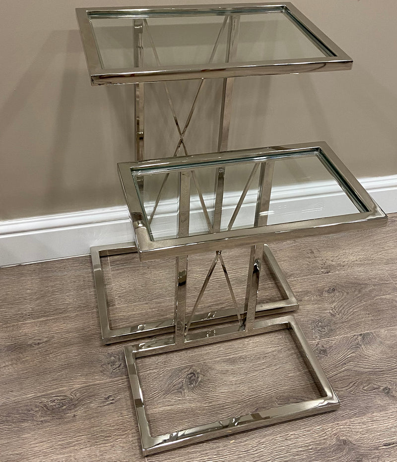 Argento Laptop Nesting Tables