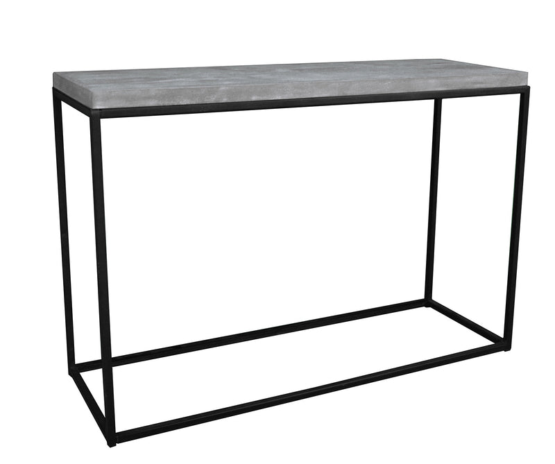Greywell Console Table with Metal Frame