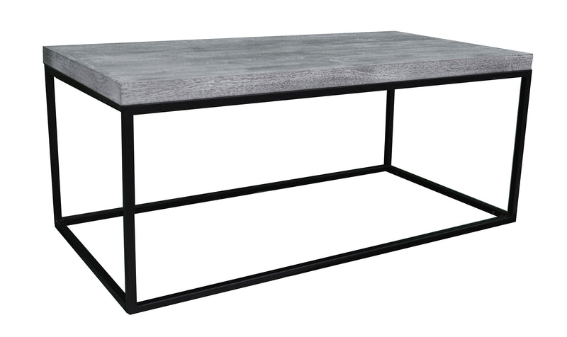 Greywell Coffee Table with Metal Frame