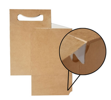 Load image into Gallery viewer, C-Store Packaging | 4-Pack Kraft Cardboard Carrier