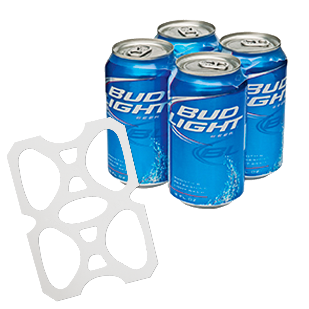 C-Store Packaging - 4-Pack Rings - Plastic Four Pack Rings