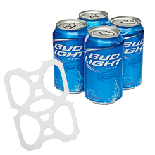 Load image into Gallery viewer, C-Store Packaging - 4-Pack Rings - Plastic Four Pack Rings