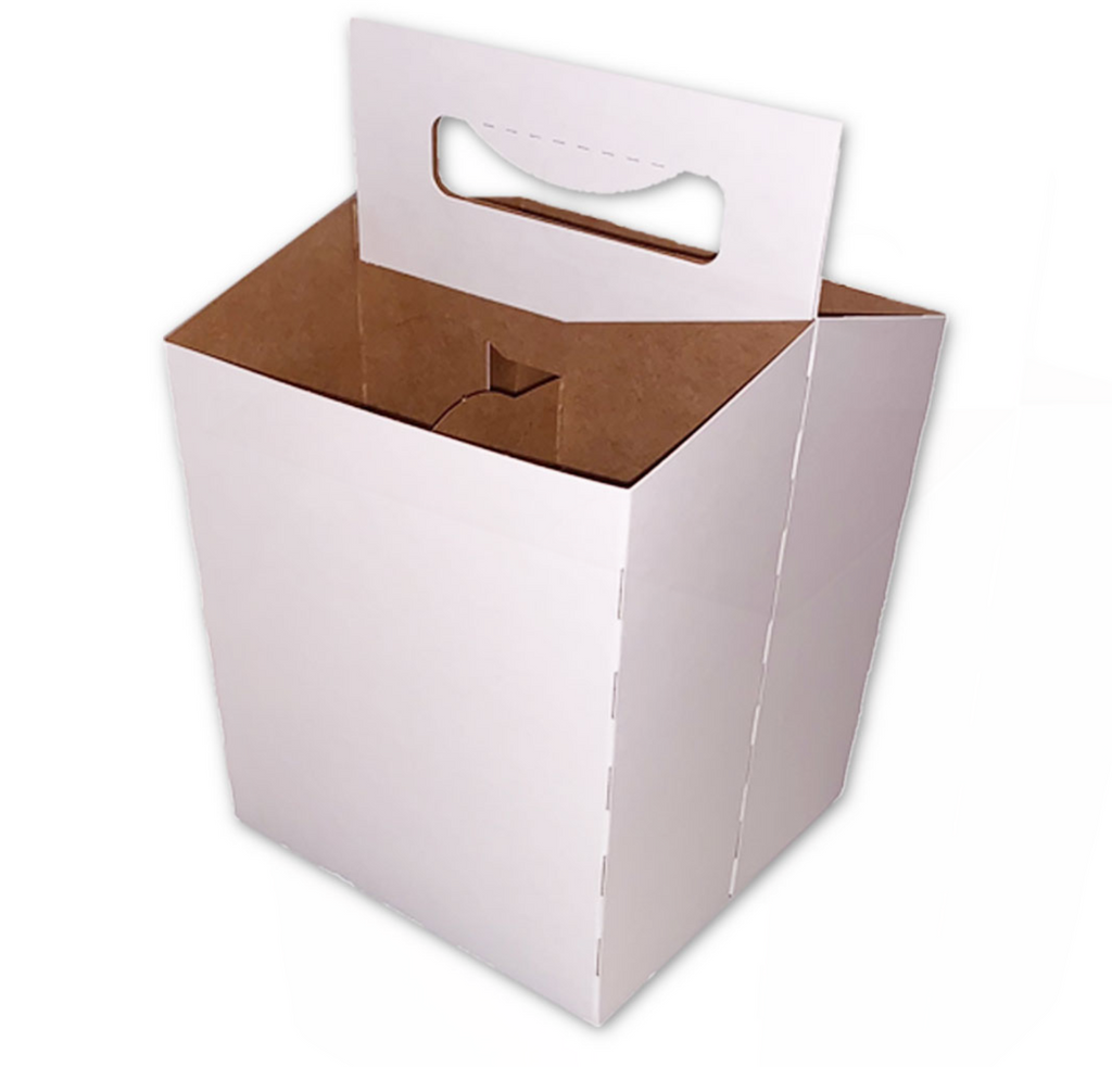 C-Store Packaging | 4-Pack Cardboard Carrier