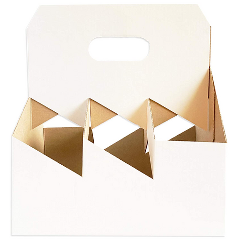 C-Store Packaging | 6-Pack Wine Cardboard Carrier