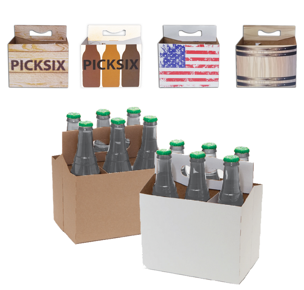 C-Store Packaging | 6-Pack Cardboard Carriers Variety Pack