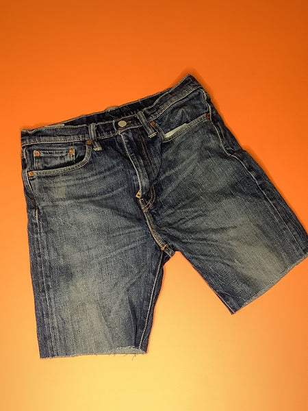 Short Branded Denim
