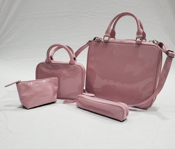 Pink Patent Travel Pro Bundle