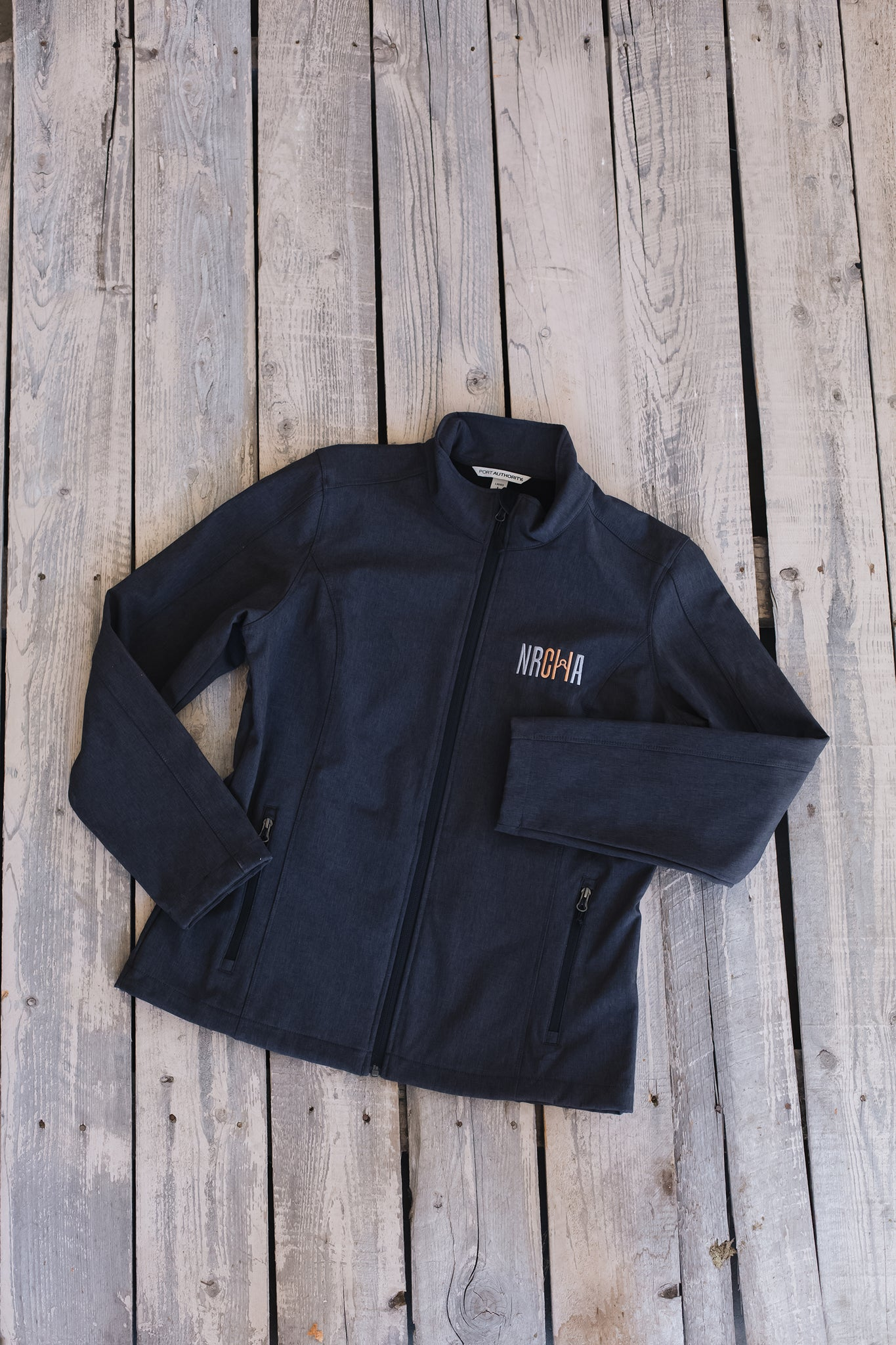Women's NRCHA Logo Charcoal Signature Series Jacket