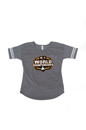 Women's NRCHA World Show 2020 Scorecard Tee