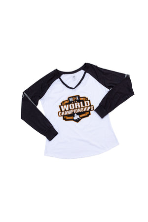 Women's NRCHA World Show 2020 Long Sleeve Tee