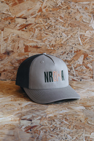 Military Green Mesh MRCHA Logo Hat