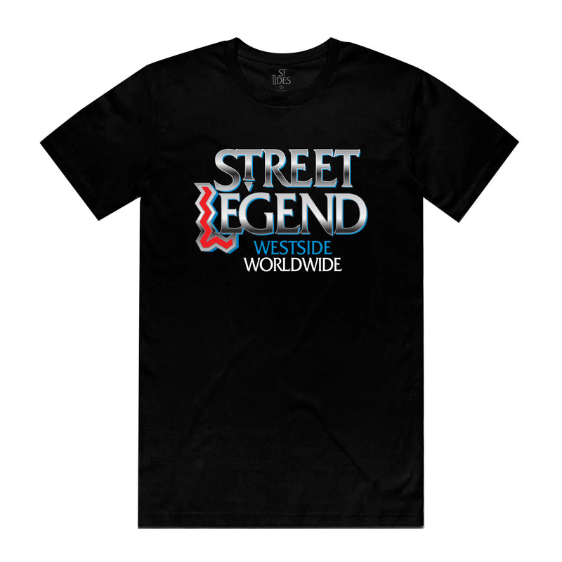 Jay Worthy x ST IDES Street Legend 94 T-Shirt - Black