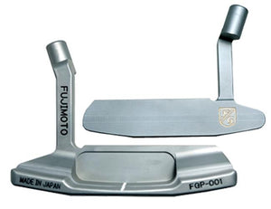 Fujimoto Gikoh Blade Putter - Raw Finish Nickle Blast Japan Forged