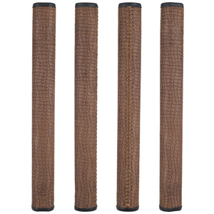 The Grip Master Cowhide Laced Putter Grip - Collector Edition Brown Scale