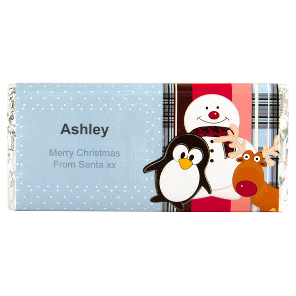 Yum Chums Message Chocolate Bar
