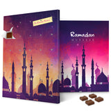 Purple Mosque Sunset Ramadan Calendar