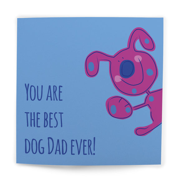 You're The Best Dog Dad Ever Card