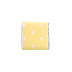 Yellow Polka Dot Neapolitans - 100pcs