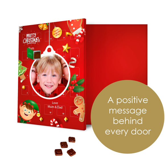 Kids Positive Action A Day Photo Advent Calendar