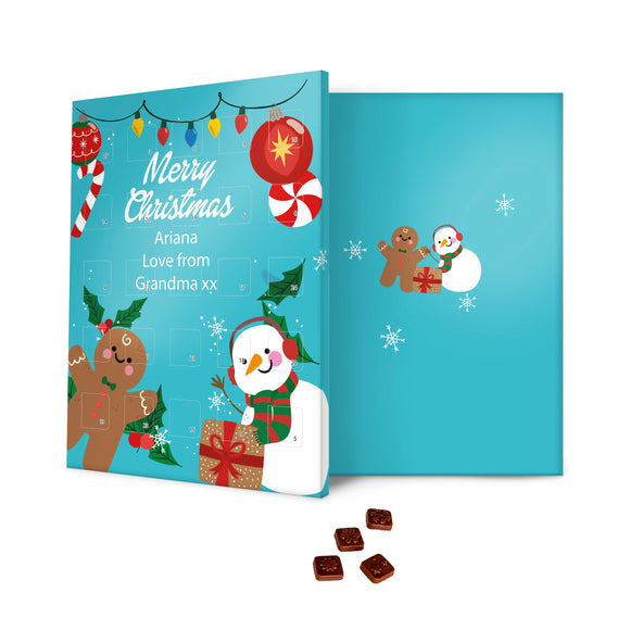 Christmas Friends Message Advent Calendar