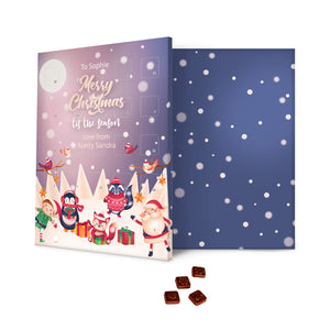 Santa & Pals Message Advent Calendar