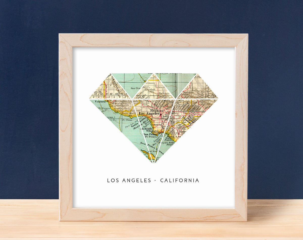 Diamond - 1 Map  $18 1 map, Birthday, Moving, Other Shapes A Gier Design A Gier Design