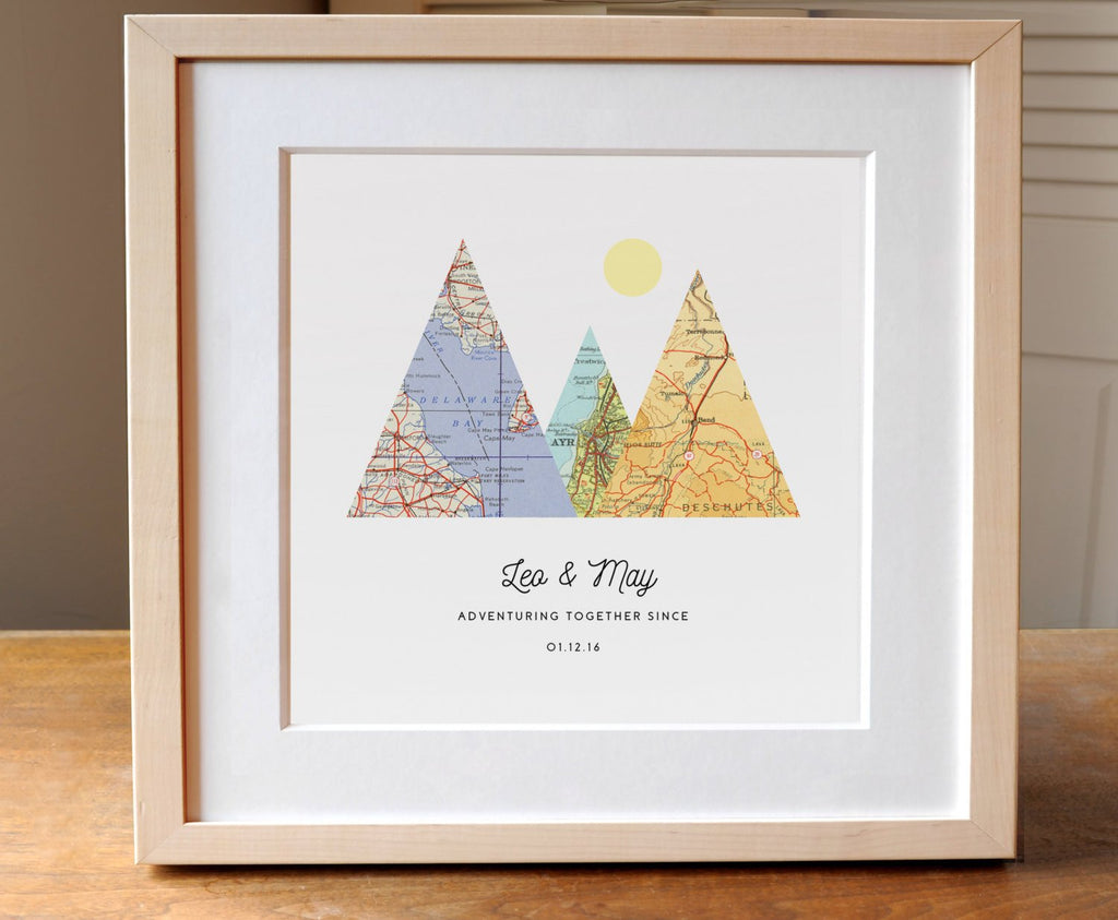 Adventure Together Print - Square