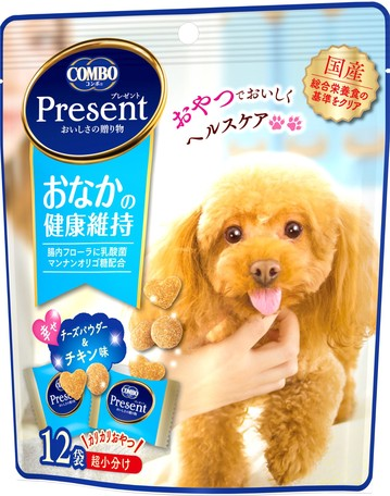 Japan Combo 2 in 1 Healthy Dog Snacks to Keep Intestinal Health 36g (Light Blue)