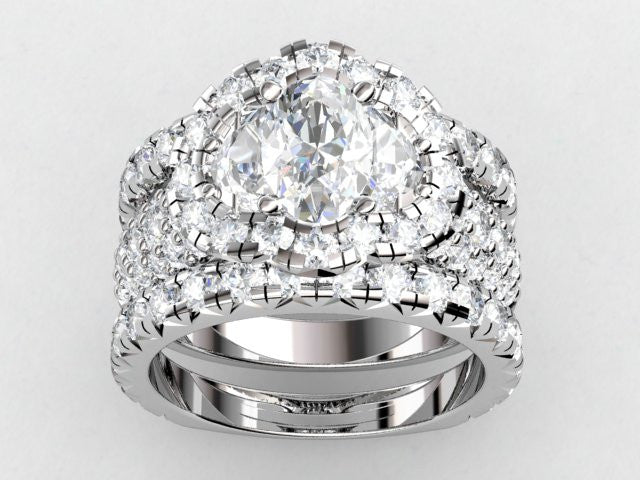 Custom Diamond Ring Reconfigured