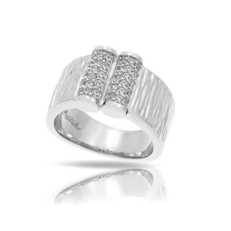 Sterling Silver & CZ Ring