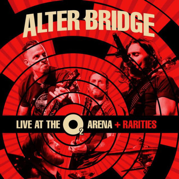 ALTER BRIDGE - Live At The O2 Arena + Rarities 3CD + DVD Deluxe