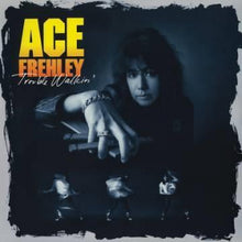 Afbeelding in Gallery-weergave laden, Ace Frehley ( Kiss) -  Trouble Walkin'  Coloured vinyl RSD