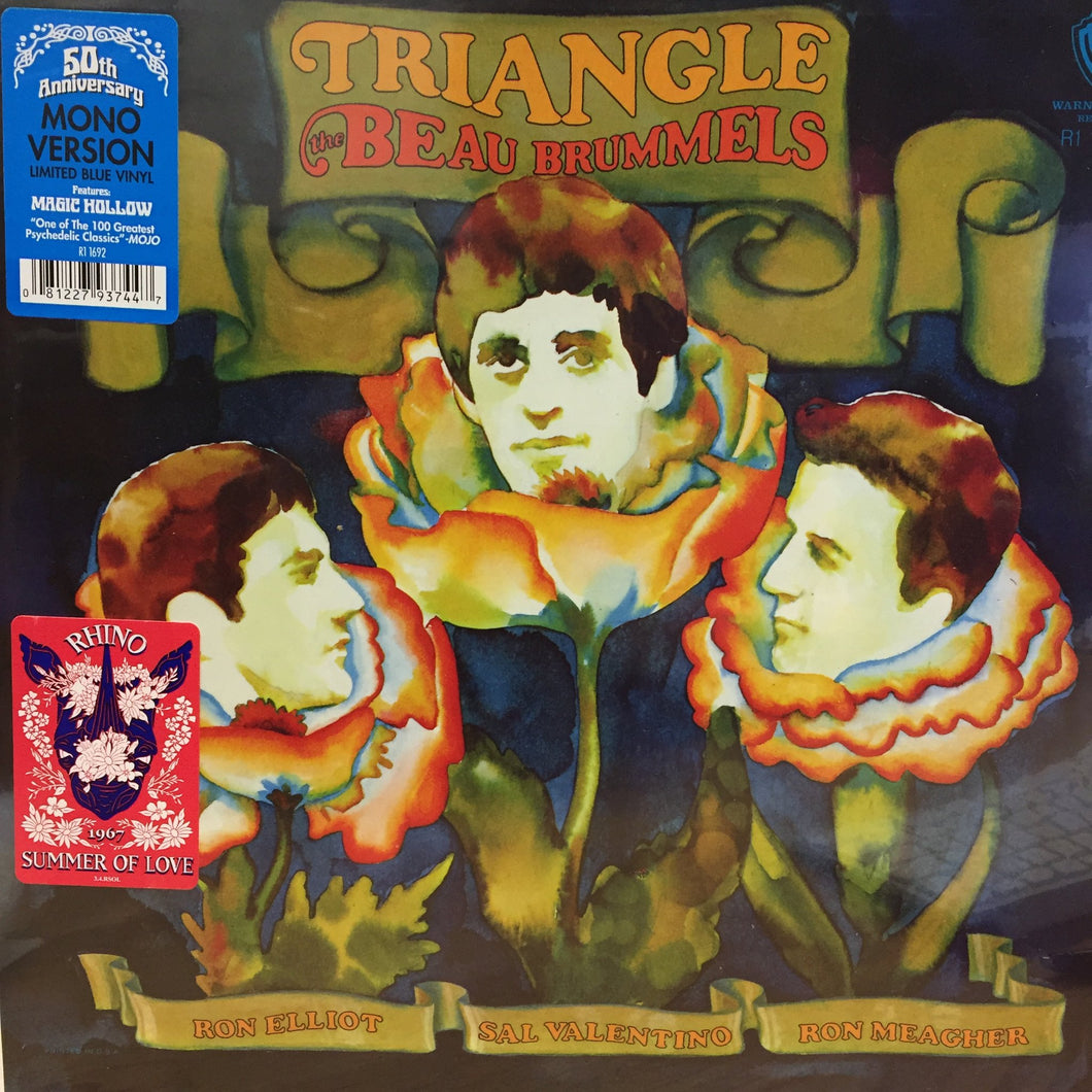 BEAU BRUMMELS - Triangle Coloured  Vinyl